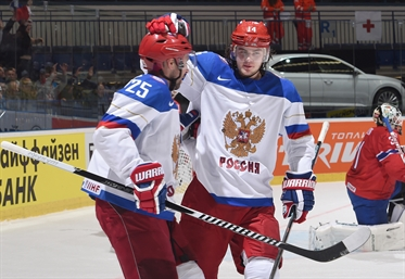 Injury blow for Russia