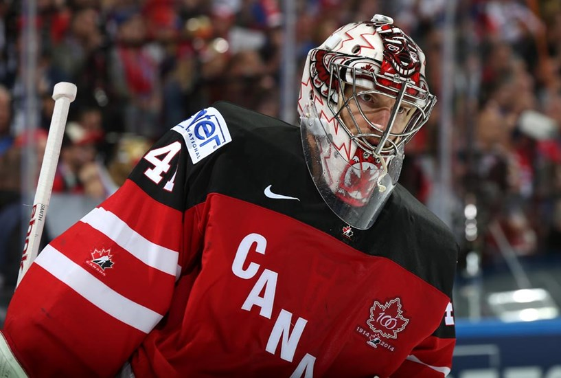 Mike Smith Canada Gold